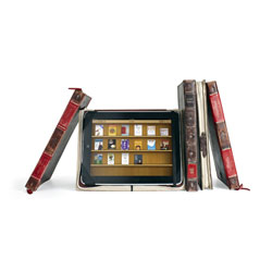 Twelve South BookBook Leather Case For iPad and iPad 2 - Black