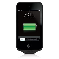 Mophie Juice Pack Air Battery Case For iPod Touch 4G - Black