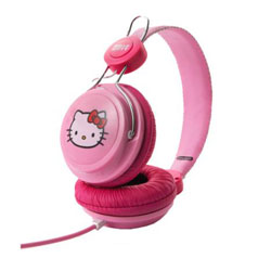 Coloud Hello Kitty Headphones - pink