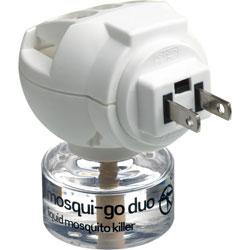Go Travel Mosquio-Go Duo USA Plug-in Mosquito Repellent