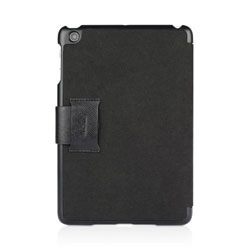 Macally Bookstand Case & Stand For iPad Mini - Black