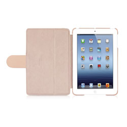 Macally Bookstand Case & Stand For iPad Mini  - Pink
