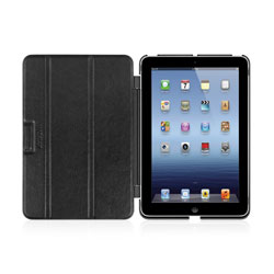 Macally Hard-Shell Case & Detachable Cover For iPad Mini - Black