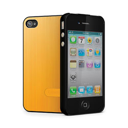 Cygnett UrbanShield Case for iPhone 4 - Gold