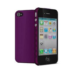 Cygnett Aerogrip Case for iPhone 4 - Purple