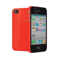 Cygnett Aerogrip Case for iPhone 4 -Red