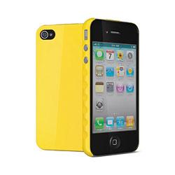Cygnett Aerogrip Case for iPhone 4 - Yellow