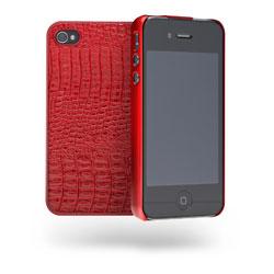 Cygnett Skin Textured Slim Case For iPhone 4/4S - Red