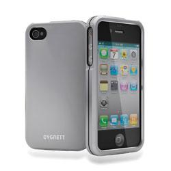 Cygnett Metalicus Aluminium Case For iPhone 4/4S - Silver
