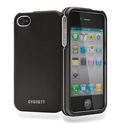 Cygnett Metalicus Aluminium Case For iPhone 4/4S - Black