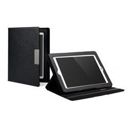 Cygnett Lavish Earth Folio Case & Stand For iPad 3 - Black