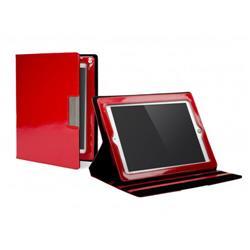 Cygnett Glam Glossy Finish Folio Case & Stand For iPad 3 - Red