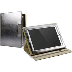 Cygnett Glam Glossy Finish Folio Case & Stand For iPad 3 - Silver
