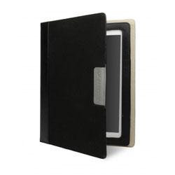 Cygnett Alumni Canvas Folio Case For iPAd 3 - Black