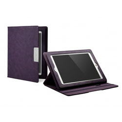 Cygnett Lavish Earth Folio Case & Stand - iPad 3 - Purple