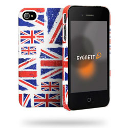 Cygnett Great Britain Union Jack Montage Case For iPhone 4/4S