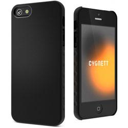 Cygnett Aerogrip Soft Feel Case For iPhone 5 - Black