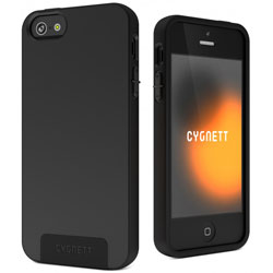 Cygnett SecondSkin Silicone Case For iPhone 5 - Black