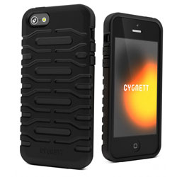 Cygnett Bulldozer Silicone Tough Case For iPhone 5 - Phantom Black