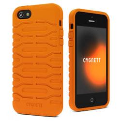 Cygnett Bulldozer Silicone Tough Case For iPhone 5 - Canyon Orange