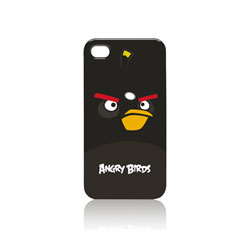 Gear4 Angry Birds iPhone 4 Case - Black Bomber