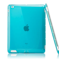 iSkin solo Smart Back Case For iPad 3 - Blue