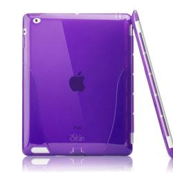 iSkin solo Smart Back Cover For iPad 3 - Purple