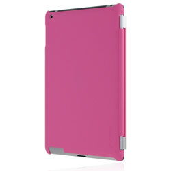 Incipio Smart Feather Back Case For iPad 3 - Pink
