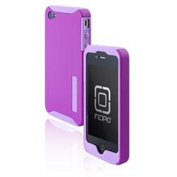 Incipio Silicrylic Dual Protection Case for iPhone 4 - Pink/Grey