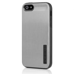 Incipio Dual Pro Shine Case For iPhone 5 - Silver/Obsidian Black