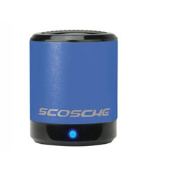 Scosche boomCAN Rechargeable Portable Speaker for iPhone, iPad and iPod