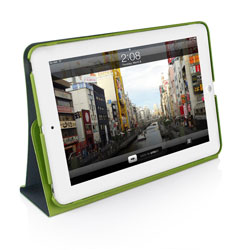Macally Shellstand Case & Stand For iPad Mini - Green