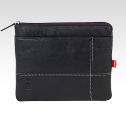 Toffee Leather Pocket Case For iPad/iPad 2/iPad 3 - Black