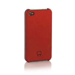 Venom Armour Shell Case For iPhone 4 - Red