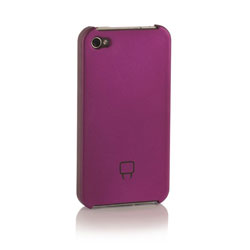 Venom Armour Shell Case For iPhone 4 - Purple