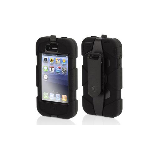 Griffin Survivor Extreme Tough Case For iPhone 4/4S - Black