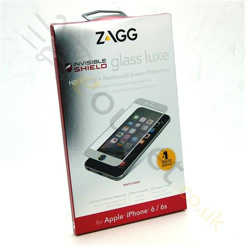 Zagg Invisible Shield Glass Luxe Screen Protector iPhone 6 ...