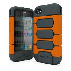 Cygnett WorkMate iPhone 4 Tough Case Grey&Orange