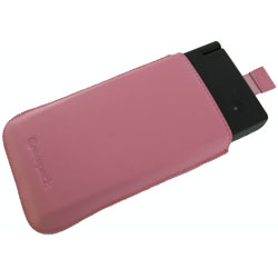 Exspect Luxury Leather Slip Case for Nintendo DSi - Pink with FREE UK Delivery