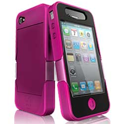 iSkin Revo4 iPhone 4 Tough Case Lush Pink