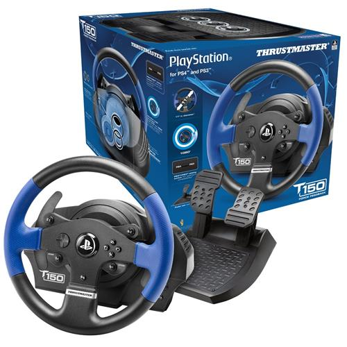 Details about Thrustmaster T150 Force Feedback Steering Wheel and Pedals  for PS4/PS3/PC